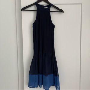 H&M Drop Hem Pleated Dress.